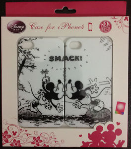 Disney Licensed Mickey Minnie Lovers Set Glossy Hard Case Cover for iPhone4 4S | eBay