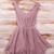 Sirenlondon — Smart Mauve Dress