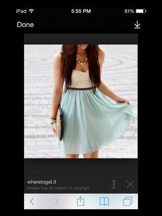dress mint dress mint skirt mint pretty wanted cotton