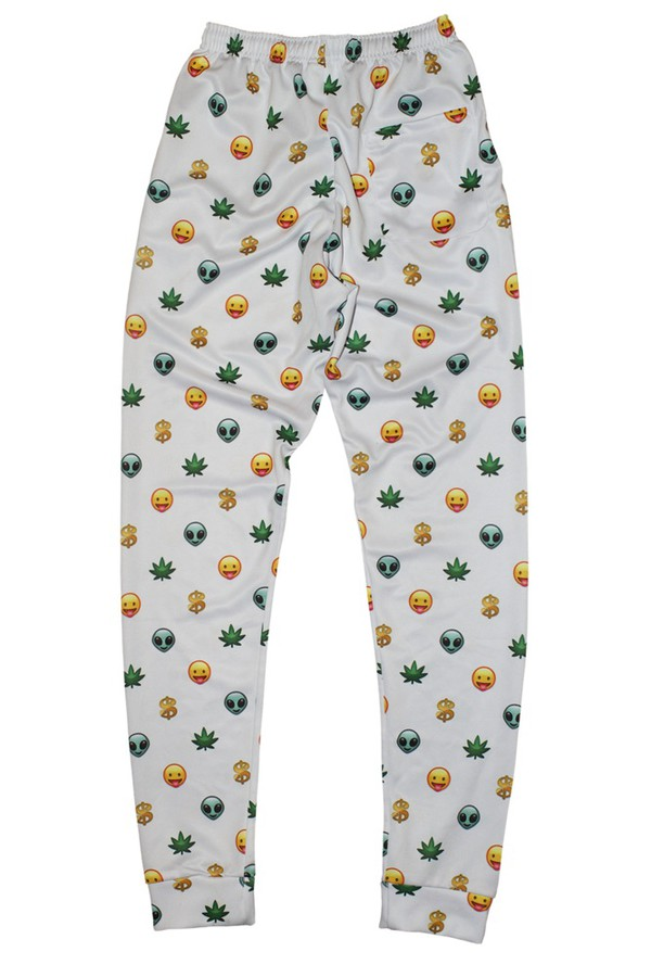 pants white emoji pants