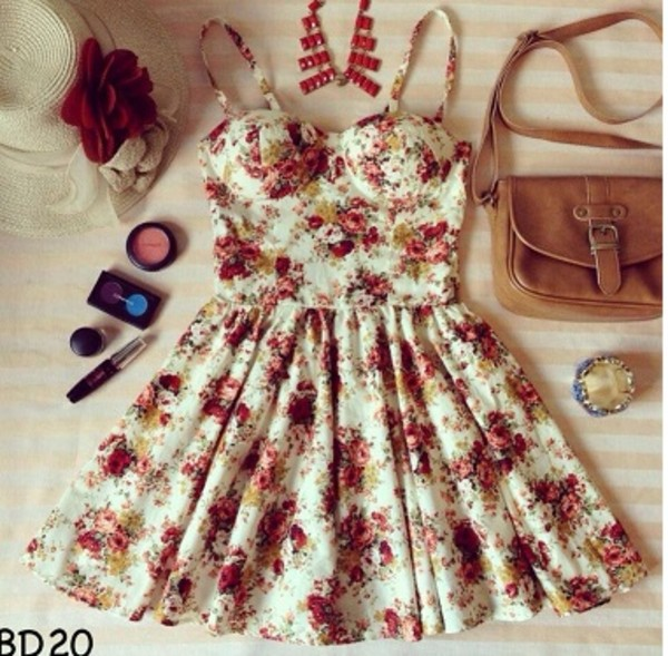 dress bralette floral corset bustier dress