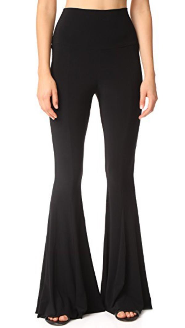 Norma Kamali Fishtail Pants in black