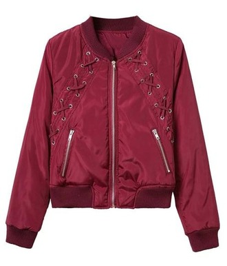 jacket girl girly girly wishlist bomber jacket burgundy trendy