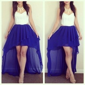 skirt,corset top,dress,cut-out,blue skirt,white,violet,tube top,shirt,pants,high waisted blue skirt,high-low dresses,high low,bustier dress,corset dress,open sides,clothes,prom dress,tank top,blue,neon,long,long skirt,hi lo skirt,blouse,white crop tops,jewels,shoes,bustier,hi low dresses,hi low dress,hi-low,high low skirt,long high low skirt,lace bustier,white bustier,white lace bustier,blue maxi dress,maxi skirt,royal blue,maxi dress,purple,exactly,lace,royal blue high low skirt,dark blue high low dress,blue long skirt,summer skirt,colorful,t-shirt,robe,white and blue dress,high low dress,white dress,homecoming dress,style,blue and white,colour: blue and white,length: long,blue dress,white and blue highlow dresss,two-piece,two piece dress set,sweetheart neck line,short front long back