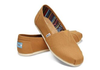 shoes toms gold brown