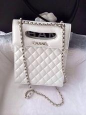 bag,chanel,purse,cute,white,style