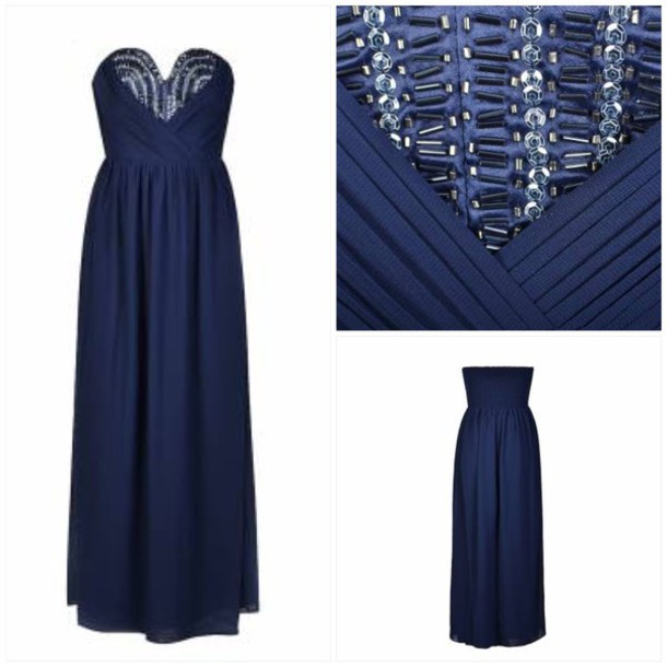 dress navy dress allyfashion