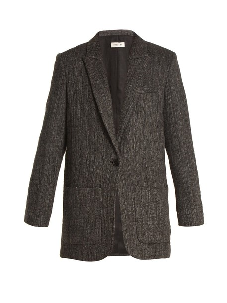 MASSCOB blazer dark grey jacket