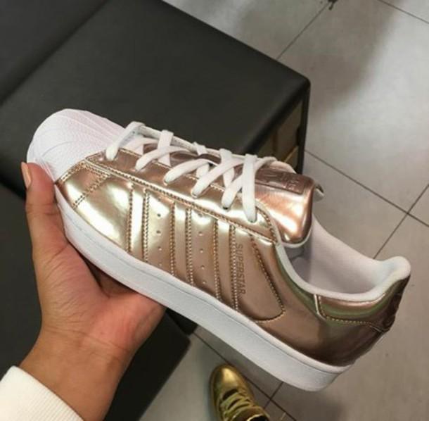 adidas superstar metallic foot locker
