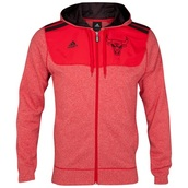 jacket,sweatshirt,clothers,red,chicago bulls,adidas