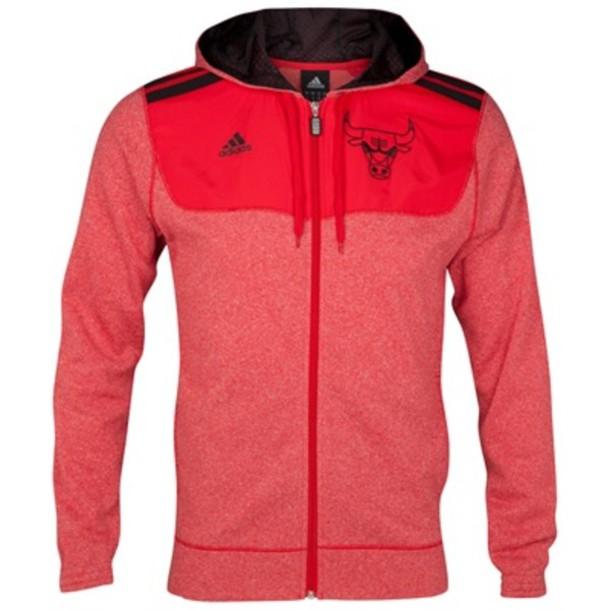 Red chicago bulls hoodie