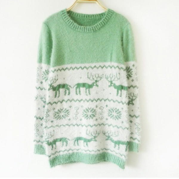 sweater jumper lime winter sweater pale scarf