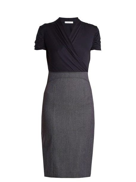 Max Mara dress navy
