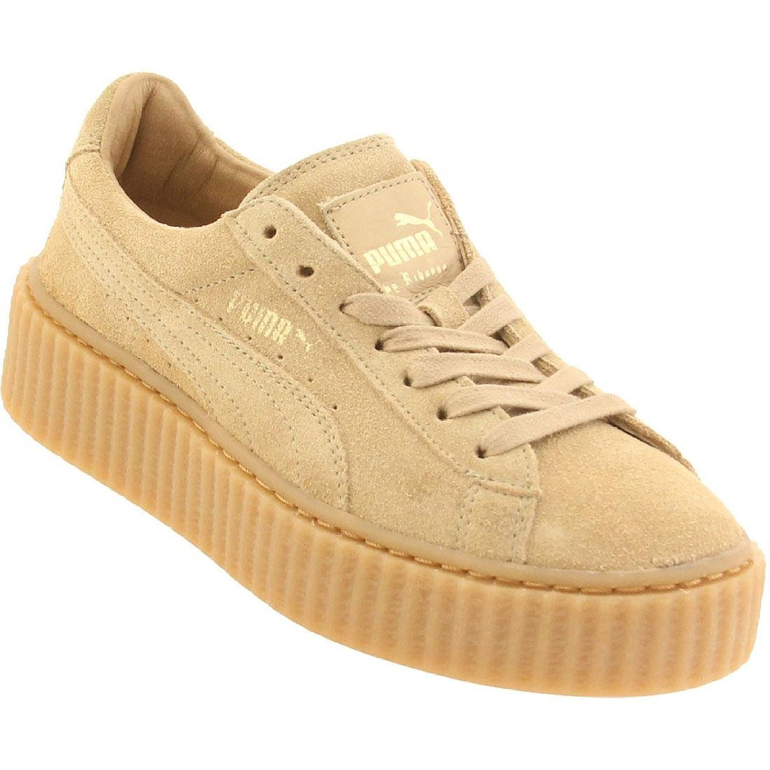 puma x rihanna women suede creepers shoes. Black Bedroom Furniture Sets. Home Design Ideas