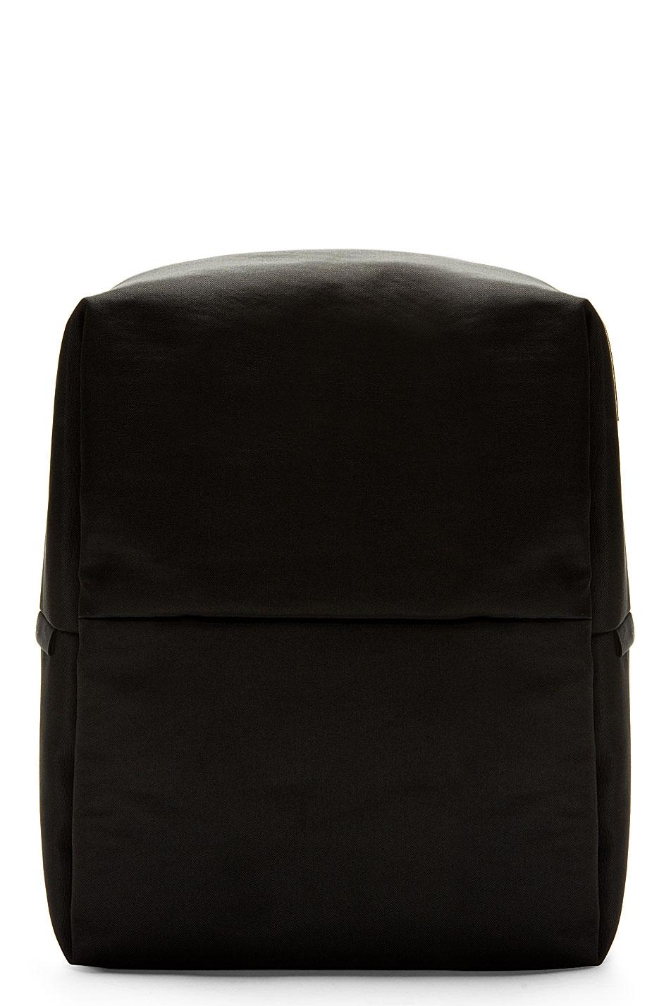 Cte and ciel black rhine new flat backpack