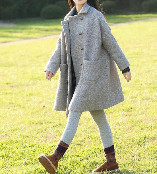 coat wool overcoat