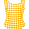 Gingham one-piece swimsuit   moda operandi