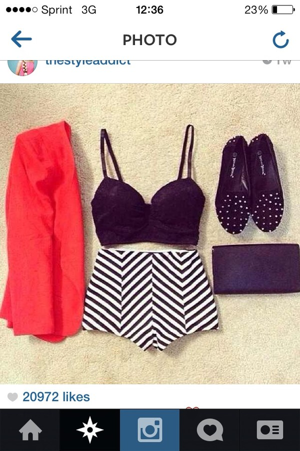 shorts cute shorts lovely cute clubwear amazing clothes pattern stripes jacket shoes