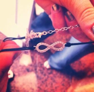 jewels bracelets infinity sparkles