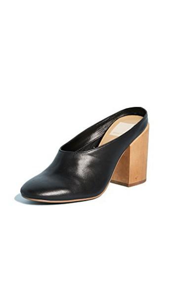 Dolce Vita mules black shoes