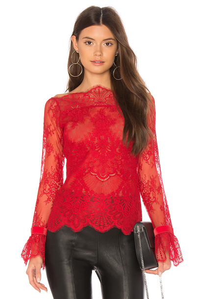 MAJORELLE top red