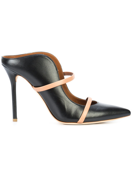 MALONE SOULIERS women pumps leather black shoes