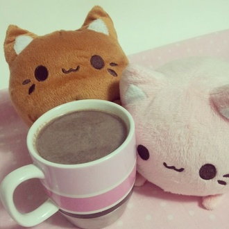 kawaii alternative emo cute mug stuffed animal love