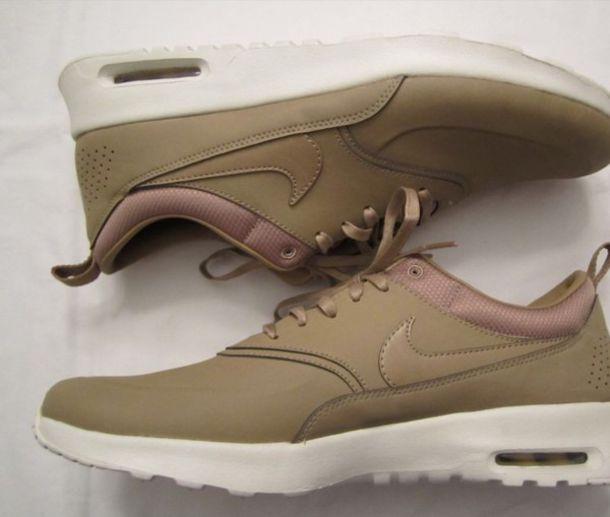 size 40 a1e2b 7ffce shoes nike nike air max thea air max khaki womens trainers nike running  shoes