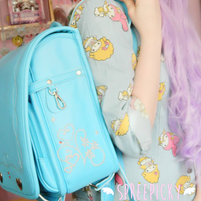 {free worldwide shipping} randoseru japanese high quality multi color super kawaii school bag backpack sp130157 · spreepicky · online store powered by storenvy