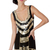 Gold Gilded Flapper Dress