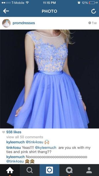 dress blue blue dress lace lace dress short blue dress short dress skater dress blue flowers prom dress short prom dress