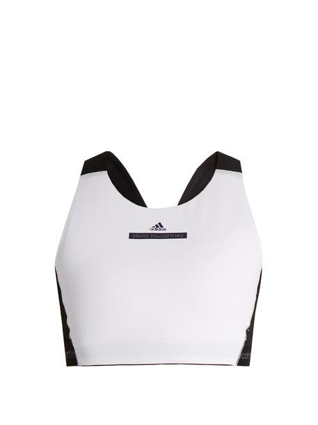 ADIDAS BY STELLA MCCARTNEY bra white black underwear