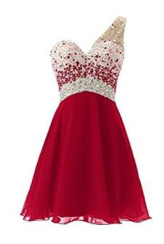 dress homecoming dress party dress red dress homecoming short homecoming dress homecoming dress beads 2016 homecoming dresss homecoming dress 2016 short prom dress 2016 short prom dresses one shoulder dress one shoulder party dreses cocktail dress