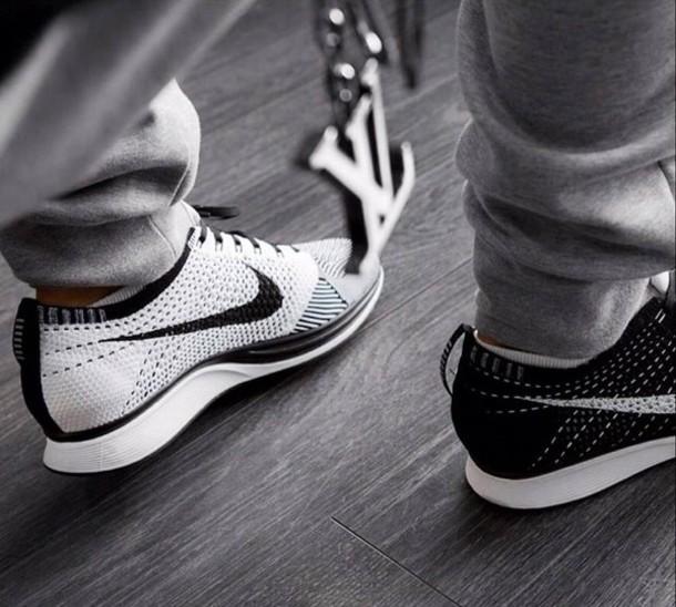 f128d10267281 shoes black white nike flyknit racers nike flyknit nike sportswear