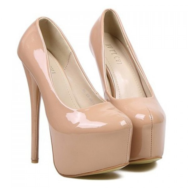 Elegant women's pumps with solid color and sexy high heel design