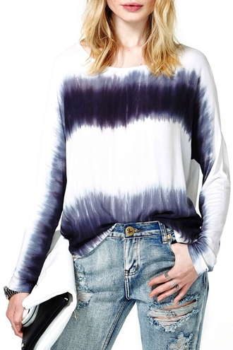 blouse top dip dyed ombre bleach dye ombre zaful