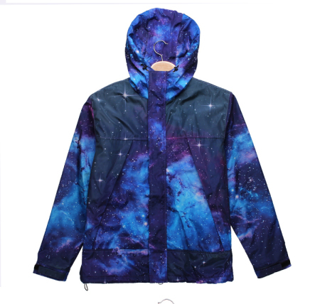 Top Quality Warm Stuff Winter Women Men 3d Galaxy Black Space Hooded Thickening Outwear Down Overcoat Coat Casual Sport Parkas-in Down & Parkas from Apparel & Accessories on Aliexpress.com