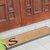 Rubber and Coir Molded Lucida Double Doormat. Monogrammed