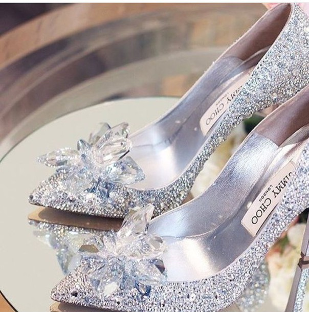 shoes jimmychoo heels glass slippers cinderella glass shoe cinderella  pretty high heels rine stone diamonds jimmy 915f3c98ff