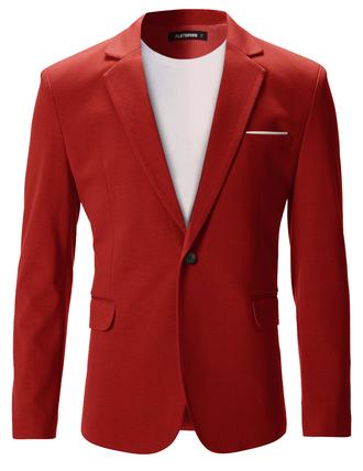 jacket blazer suit mens suit red jacket party menswear