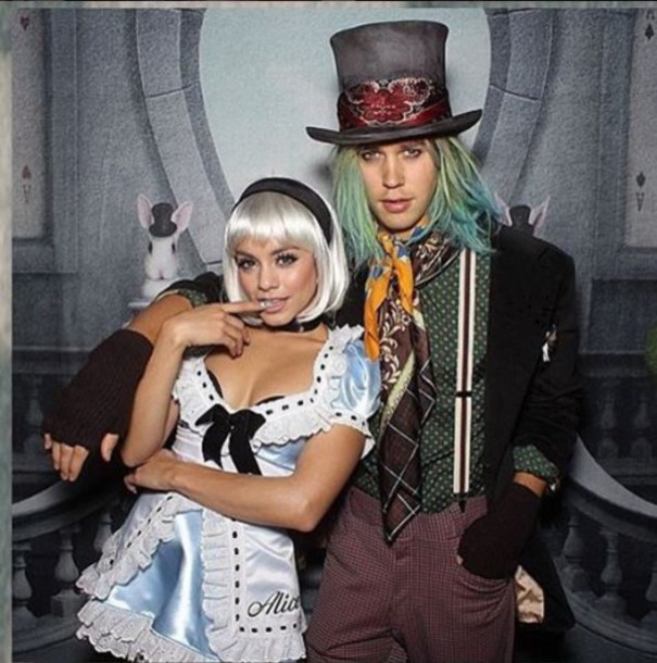 dress halloween halloween costume halloween accessory vanessa hudgens instagram couples halloween costumes alice in wonderland wheretoget