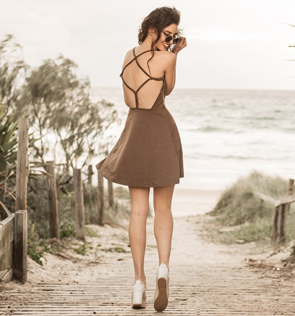 summer dress sexy dress beach streetstyle stylemoi elegant dress swag