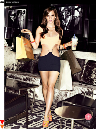 dress emma watson the bling ring cut-out dress abs