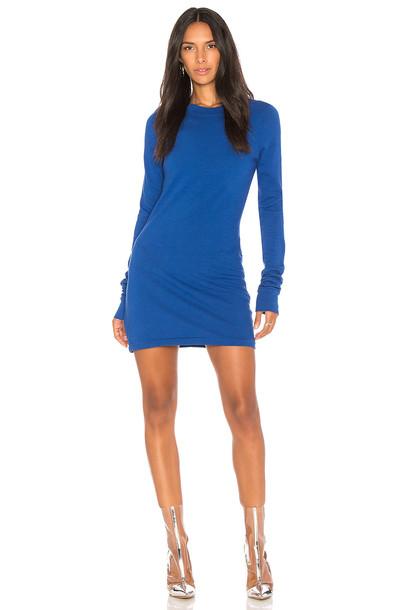 Cotton Citizen dress mini dress mini long blue