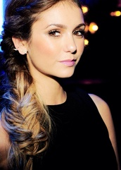 jewels,nina dobrev,perfection,earrings,arrow,hairstyles