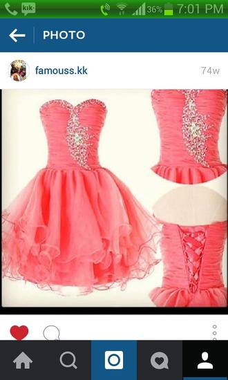 dress pinkish salmon