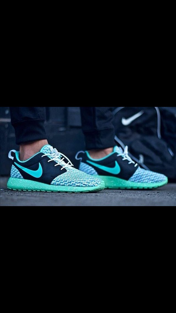 shoes nike custom roshe runs colorful sneakers style roshes nikeprint