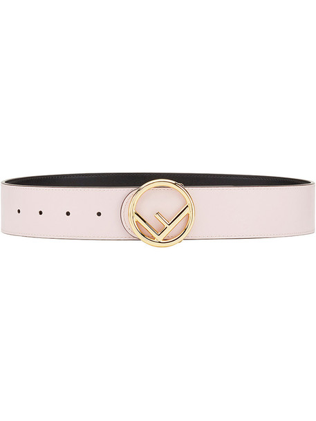 Fendi women belt leather purple pink