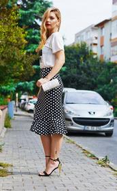 t-skirt,midi skirt,summer outfits,swag,black skirt,streetstyle,stylemoi