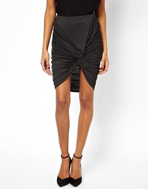 ASOS   ASOS Skirt With Knot Detail at ASOS